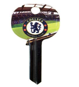 Chelsea F.C. Door Key Blank