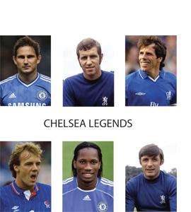 Chelsea Legends (Greetings Card)