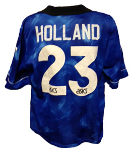 Chris Holland Newcastle United Away Shirt 1994/95 (Match-Worn)