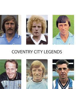 Coventry City Legends (Greetings Card)
