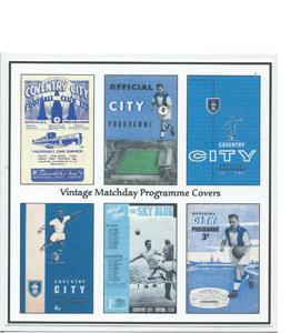 Coventry City Vintage Programme (Greeting Card)