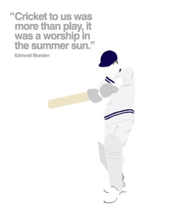 Cricket (Greetings Card)