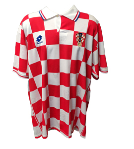 Croatia International 1996/98 Home Shirt (Official Euro 96)