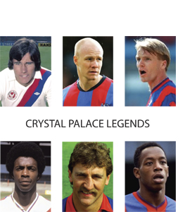 Crystal Palace Legends (Greetings Card)