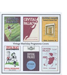 Crystal Palace Vintage Programme (Greeting Card)