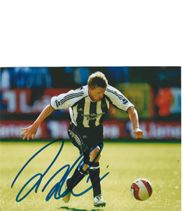 Damien Duff Newcastle Photo (Signed)
