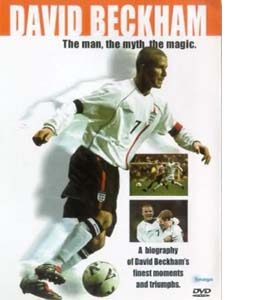 David Beckham: The Man, The Myth, The Magic (DVD)