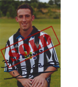 David Beharall Newcastle Photo (Signed)