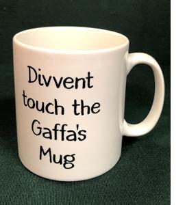 Divvent Touch The Gaffa's Mug (Mug)