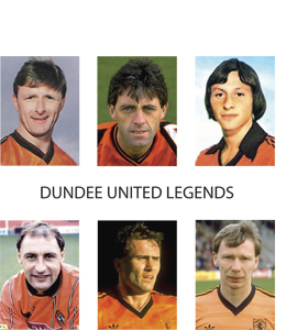 Dundee United Legends (Greetings Card)