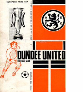 Dundee United v Newcastle United 69/70 Fairs Cup (Programme)