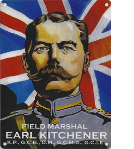 Earl Kitchener (Metal Sign)