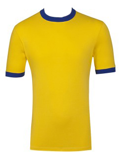 Empire Jersey Yellow & Royal Blue Short Sleeve