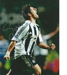 Emre Belözoğlu Newcastle Photo (Signed)