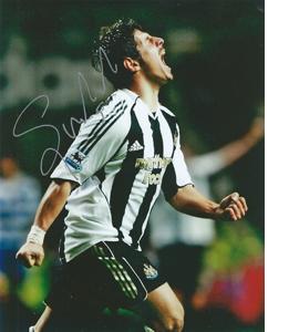 Emre Belözoğlu Newcastle Photo (Signed)