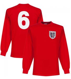England 1966 World Cup No 6 Official Retro Away Shirt