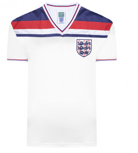 England 1982 World Cup Finals Retro Shirt OUT OF STOCK