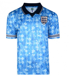 England 1990 World Cup Official Retro Third Shirt