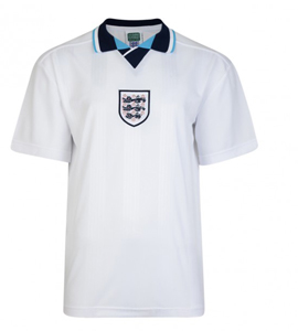 England 1996 Official European Championship Retro Home Shirt