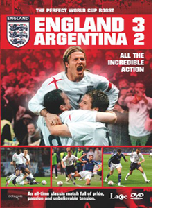 England 3 Argentina 2 (DVD)