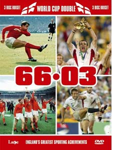 England Football 1966 WC Final/England Rugby 2003 WC Final (DVD)