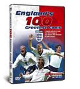 England's 100 Greatest Goals (DVD)