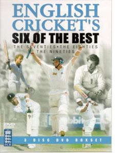 English Cricket's Six Of The Best Box Set (DVD)