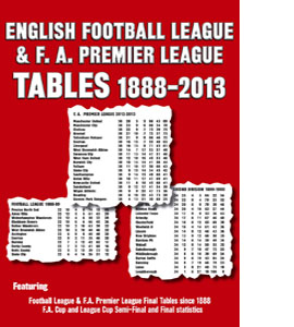 English Football League & FA Premier League Tables 1888-2013