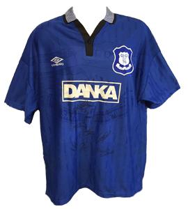 Everton 1996/97 Home Shirt (Signed)