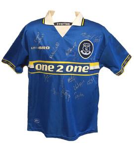 Everton 1997/98 Home Shirt (Signed)