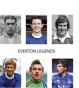Everton Legends (Greetings Card)