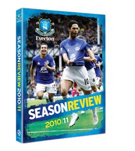 Everton Season Review 2010 / 2011 (DVD)
