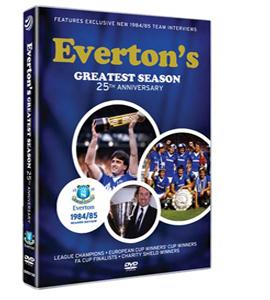 Everton's Greatest Season 1984/85 Season Review (DVD)