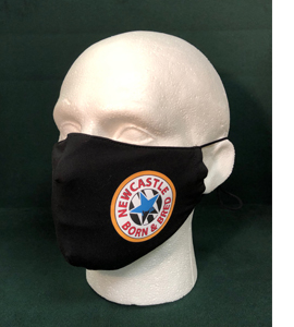 Exclusive Newcastle Blue Star Born & Bred (Face Mask)