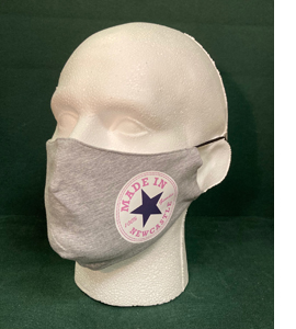 Exclusive Made In Newcastle Pink Text (Face Mask)