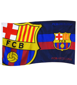 F.C. Barcelona Flag