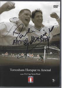 FA CUP Semi-Final 1991 Tottenham v Arsenal Signed by Gazza (DVD)