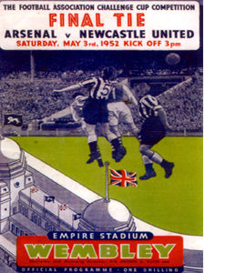 1952 FA Cup Final Newcastle United v Arsenal (Postcard)