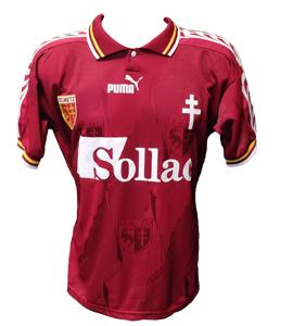 FC Metz 1996/97 Home Shirt