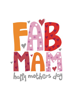Fab Mam (Greetings Card)