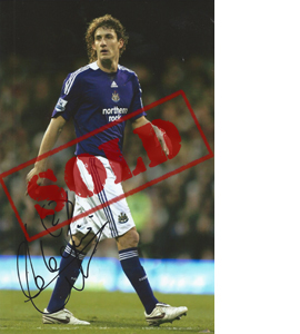 Fabricio Coloccini Newcastle Photo (Signed)