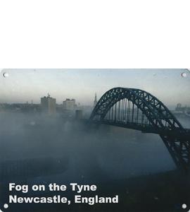 Fog On The Tyne (Metal Sign)
