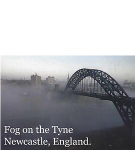 Fog on the Tyne, Tyne Bridge (Postcard)