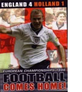 Football Comes Home Euro 1996  England 4 Holland 1 (DVD)