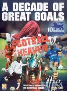 Football Heaven - A Decade Of Great Goals (DVD)