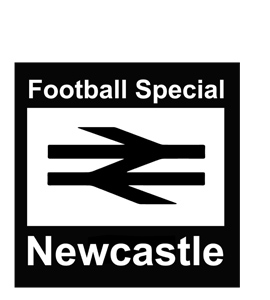 Football Special Newcastle (Greetings Card)