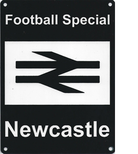 Football Special Newcastle Exclusive Design (Metal Sign)