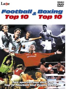 Football Top 10 / Boxing Top 10 (DVD)