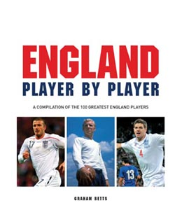 Football: England Player by Player (HB)