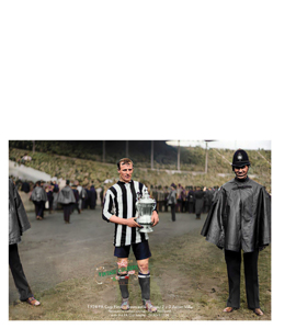 Frank Hudspeth Newcastle United 1924 FA Cup Final (Print)